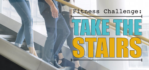 Fitness Challenge : Take the Stairs